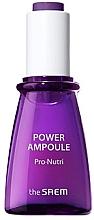 Духи, Парфюмерия, косметика Ампульная сыворотка для лица питание и увлажнение - The Saem Power Ampoule Pro-nutri