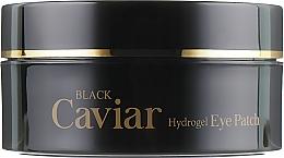 Гидрогелевые патчи под глаза с черной икрой - Esfolio Black Caviar Hydrogel Eye Patch — фото N2