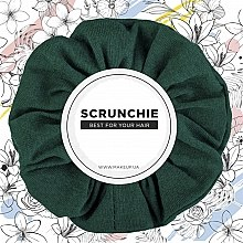 """Духи, Парфюмерия, косметика Резинка для волос трикотаж, изумруд """"Knit Classic"""" - MakeUp Hair Accessories"""