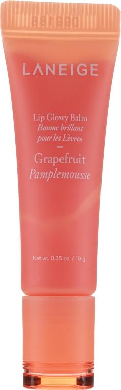 """Оттеночный блеск-бальзам для губ """"Грейпфрут"""" - Laneige Lip Glowy Balm Grapefruit — фото N2"""