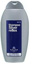 Духи, Парфюмерия, косметика Шампунь серебряный окрашивающий - Kallos Cosmetics Silver Reflex Shampoo