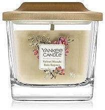Духи, Парфюмерия, косметика Ароматическая свеча - Yankee Candle Elevation Velvet Woods