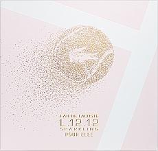 Духи, Парфюмерия, косметика Lacoste Eau de Lacoste L.12.12 Pour Elle Sparkling - Набор (edt/90ml + sh/gel/150ml)