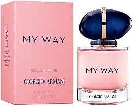 Духи, Парфюмерия, косметика Giorgio Armani My Way - Парфюмированная вода