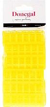 Духи, Парфюмерия, косметика Бигуди для волос 9218, классическая форма, 20 мм, желтые, 12 шт - Donegal Hair Curlers
