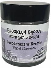 Духи, Парфюмерия, косметика Дезодорант-крем с ароматом лаванды и лимонной травы - Brooklyn Groove Deodorant Cream