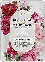 Духи, Парфюмерия, косметика Укрепляющая маска-перчатки для рук - Petitfee&Koelf Rose Petal Satin Hand Mask