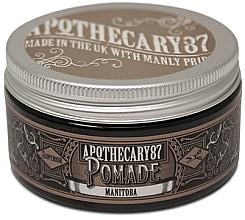 Духи, Парфюмерия, косметика Помада для укладки волос - Apothecary 87 Manitoba Pomade