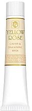 Духи, Парфюмерия, косметика Маска для лица с икрой и морской ДНК (туба) - Yellow Rose Caviar & Marine DNA Face Mask
