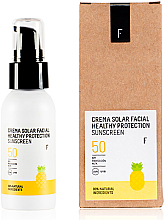 Духи, Парфюмерия, косметика Солнцезащитный крем для лица SPF 50 - Freshly Cosmetics Healthy Protection Facial Sun Cream