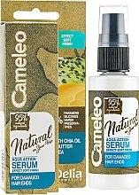 Духи, Парфюмерия, косметика Сыворотка для волос - Delia Cameleo Natural On Your Hair Aqua Action Serum