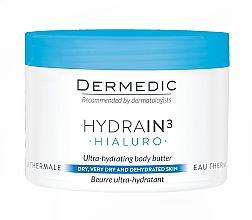 Духи, Парфюмерия, косметика Гиалуроновое ультра-увлажняющее масло - Dermedic Hydrain3 Hialuro Ultra-Hydrating Body Butter