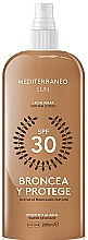 Духи, Парфюмерия, косметика Лосьон для загара - Mediterraneo Sun Suntan Lotion SPF30