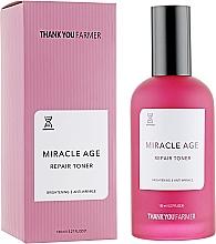 Духи, Парфюмерия, косметика Восстанавливающий тонер против морщин антивозрастной - Thank You Farmer Miracle Age Tooner