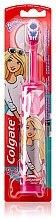 Духи, Парфюмерия, косметика Детская электрическая зубная щетка, супермягкая, Barbie, розово-белая - Colgate Electric Motion Barbie