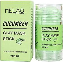 """Духи, Парфюмерия, косметика Маска-стик для лица """"Cucumber"""" - Melao Cucumber Clay Mask Stick"""