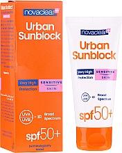 Духи, Парфюмерия, косметика Солнцезащитный крем для чувствительной кожи лица - Novaclear Urban Sunblock Protective Cream Sensitive Skin SPF50