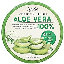 Духи, Парфюмерия, косметика Увлажняющий гель с алоэ - Esfolio Moisture Soothing Gel Aloe Vera 100% Purity
