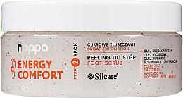 Духи, Парфюмерия, косметика Сахарный пилинг для ног - Silcare Nappa Natural Sugar Foot Scrub
