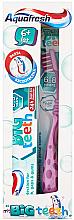 Духи, Парфюмерия, косметика Набор - Aquafresh My Big Teeth (Toothpaste/50ml + Toothbrush/1 шт)