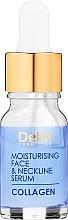 Духи, Парфюмерия, косметика Сыворотка для лица и шеи против морщин увлажняющая интенсивная терапия - Delia Collagen Intensive Anti-Wrinkle and Moisturising Treatment Serum