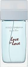 Духи, Парфюмерия, косметика Dolce & Gabbana Light Blue Love is Love Pour Femme - Woda toaletowa