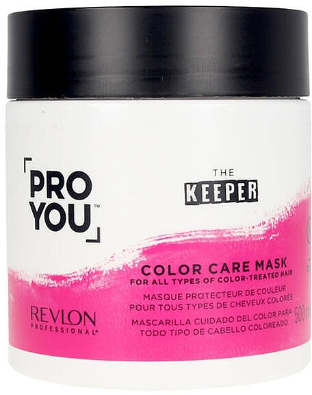 Маска для окрашенных волос - Revlon Professional Pro You Keeper Color Care Mask — фото N1