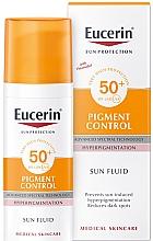 Духи, Парфюмерия, косметика Флюид для лица против гиперпигментации - Eucerin Sun Protection Pigment Control SPF50+