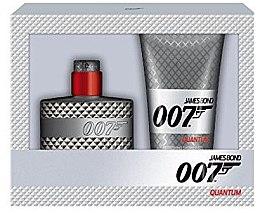 Духи, Парфюмерия, косметика James Bond 007 Quantum - Набор (edt/50ml+sh/gel/150ml)
