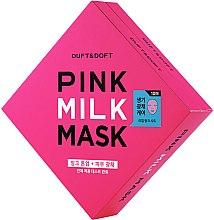 Духи, Парфюмерия, косметика Маска для лица - Duft & Doft Pink Milk Mask Tone Up+ Radiance