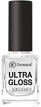 Духи, Парфюмерия, косметика Финальная защита маникюра - Dermacol Ultra Gloss Top Coat