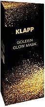 "Духи, Парфюмерия, косметика Маска для лица ""Золотое сияние"" - Klapp Golden Glow Mask"