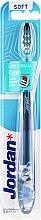 Духи, Парфюмерия, косметика Зубная щетка мягкая Individual Clean, серо-синяя с совой - Jordan Individual Clean Soft