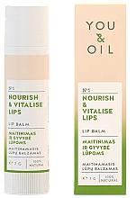 """Духи, Парфюмерия, косметика Бальзам для губ """"Питание и оживление"""" - You & Oil Nourish & Vitalise Lip Balm"""