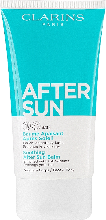 Успокаивающий бальзам после загара для лица и тела - Clarins Soothing After Sun Balm 48H — фото N1
