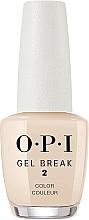 Духи, Парфюмерия, косметика Укрепляющее цветное покрытие - O.P.I Gel Break Lacquer