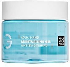Духи, Парфюмерия, косметика Антибактериальный гель для рук - Aquayo Aqua Hand Moisturizing Gel Antibacterial