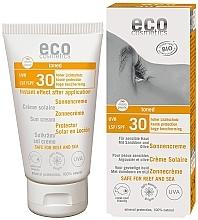 Духи, Парфюмерия, косметика Водостойкий солнцезащитный крем SPF 30 с эффектом загара - Eco Cosmetics Sonne SLF 30 Getoent