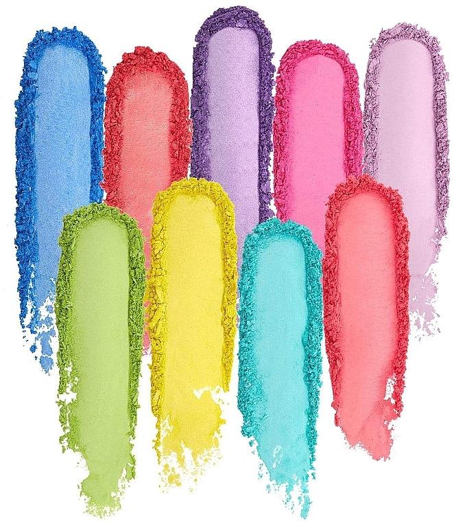 Палетка теней для век - Barry M Eyeshadow Palette Neon Brights — фото N2