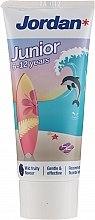 Духи, Парфюмерия, косметика Зубная паста для детей 6-12 лет, дельфин - Jordan Junior Toothpaste