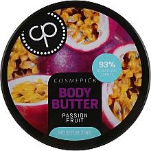 Духи, Парфюмерия, косметика Увлажняющее масло для тела с экстрактом маракуйи - Cosmepick Body Butter Passion Fruit