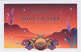 Духи, Парфюмерия, косметика Палетка теней для век - Moira Soul of Fire Shadow Palette