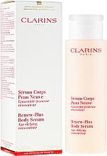 Духи, Парфюмерия, косметика Сыворотка - Clarins Renew-Plus Body Serum