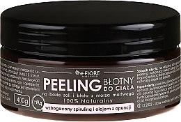 Духи, Парфюмерия, косметика Пилинг для тела с спирулиной, маслом опунции и кислотой - E-Fiore Body Peeling