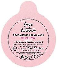Духи, Парфюмерия, косметика Восстанавливающая маска для лица с малиной и мятой - Oriflame Love Nature Revitalising Cream Mask All Skin Types