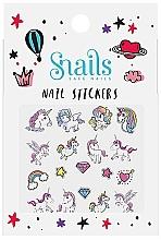 Духи, Парфюмерия, косметика Наклейки для дизайна ногтей - Snails Nail Stickers  (1шт)