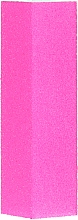 Духи, Парфюмерия, косметика Четырехсторонний полировочный блок для ногтей, ярко розовый - M-sunly