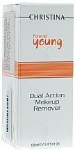 Духи, Парфюмерия, косметика Средство для снятия макияжа - Christina Forever Young Dual Action Make Up Remover