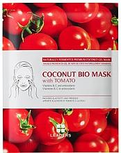 Духи, Парфюмерия, косметика Биоцеллюлозная маска для лица - Leaders Coconut Bio Tomato Mask
