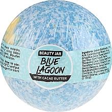 Духи, Парфюмерия, косметика Бомбомбочка для ванны с маслом какао - Beauty Jar Blue Lagoon